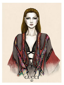 Gucci Illustration by Tania Santos