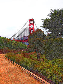 Golden Gate Bridge by Stephen Lawrence Mitchell