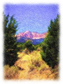 Deseret Peak von Stephen Lawrence Mitchell