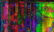 Get Me Out of Here Glitch Art