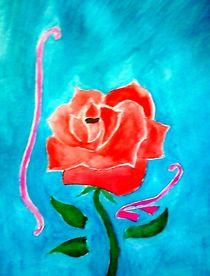 Rose by nellyart
