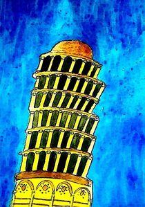 Pisa tower by nellyart