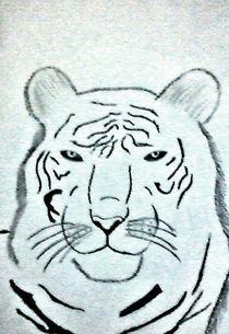 Siberian tiger by nellyart
