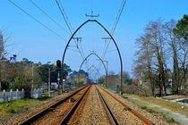 Railway Tracks by John Tidball