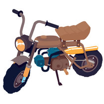 # 1 Honda Z50 by brownjames