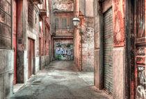 Strassenansicht - Altstadt Palma de Mallorca von MaBu Photography