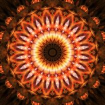 Mandala Wärme von Christine Bässler