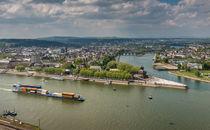 Koblenz-Panorama 9 von Erhard Hess