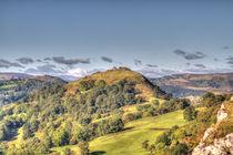 Castell Dinas Bran, Llangollen by gainsborough-park-photography