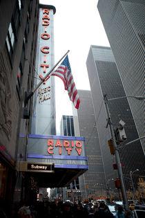 New York Radio City von fotograf-leipzig