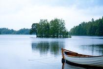 Boot am See von Eva Dietsche