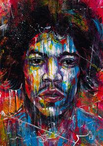 Jimi Hendrix by Fernando Souza