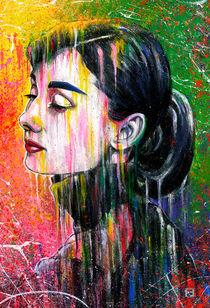 Audrey Hepburn 1956 by Fernando Souza