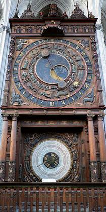 Astronomische Uhr zu Rostock by Sabine Radtke