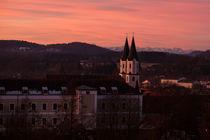 Sonnenaufgang Kloster Gars von k3-foto