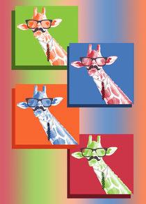 Pop Art Giraffe von Carol Vega