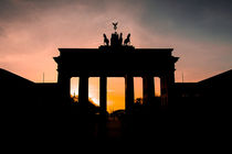 Brandenburger Tor - Sunset von MaBu Photography