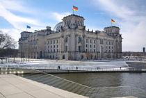 Blick auf das Berliner Reichstaggebäude von MaBu Photography