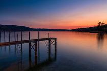 Bodensee bei Abendstimmung von Thomas  Heßmann