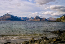 The Cuillins from Elgol, Scotland by Jacqi Elmslie