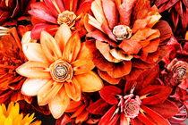 paper flowers von Andreas  Kemenater