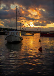 Sunset at Teignmouth by Pete Hemington