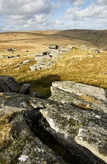 View near Beardown Tor von Pete Hemington