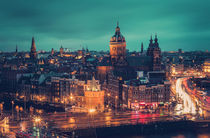 Amsterdam Blue Hour von David Pinzer