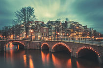 Amsterdam Blue Hour II by David Pinzer