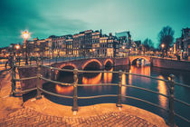 Amsterdam Blue Hour III