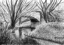 alte Steinbrücke von Isabell Tausche