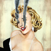 Smoking Hot - Marilyn Monroe by Famous When Dead