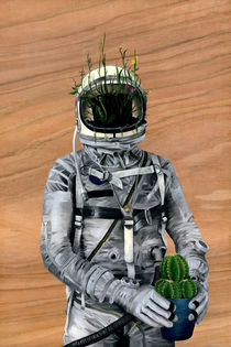 Spaceman No 01 von Famous When Dead
