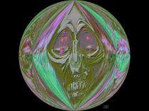 Ghost Skull by jfantasma-artistry