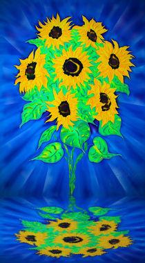 Sonnenblumen 2 von Walter Zettl