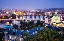 The Bridges of Prague by Michael Abid