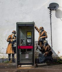 Spy Booth by Banksy von Gabriela Wernicke-Marfo