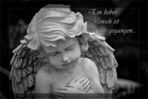 Ein lieber Mensch ist von uns gegangen Gedenkkarte / Grußkarte / Trauerkarte von Dennis Stracke