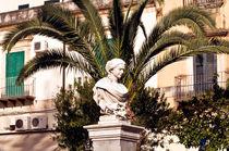 Statue - Noto - Sizilien von captainsilva