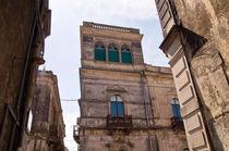 Barockfassade - Linguaglossa - Sizilien by captainsilva