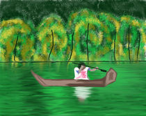 Kerala back waters by shreya sham