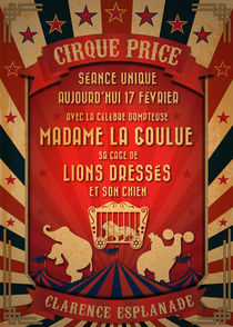 CIRQUE PRICE ROUGE by dip