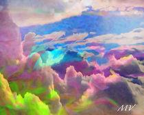 Fantasy Skies von Maggie Vlazny