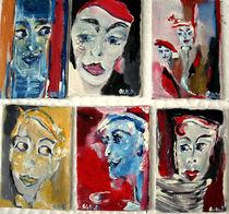 Gesichter der Fantasie  by Ute Vehse