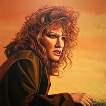 Bette Midler painting by Paul Meijering