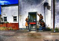 big Spy Booth by Banksy von Gabriela Wernicke-Marfo