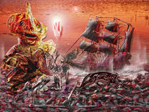 Reiner Farbe entsprungenes Bild von David Renson