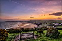 Woolacombe Bay sunrise von Dave Wilkinson