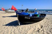 Fischerboote von Jörg Hoffmann