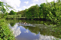 Rowing Practice, near Branston von Rod Johnson